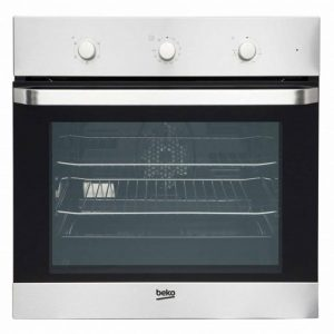 BEKO BUILT-IN 600MM STAINLESS STEEL FAN OVEN OFFER PRICE £309 FITTED
