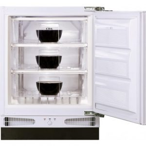 CDA INTEGRATCDA INTEGRATED BUILT-UNDER FREEZER OFFER £385 FITTED