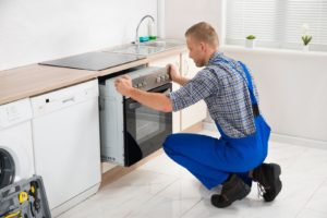 Kitchen appliance installation